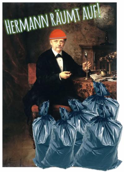 Hermann räumt auf