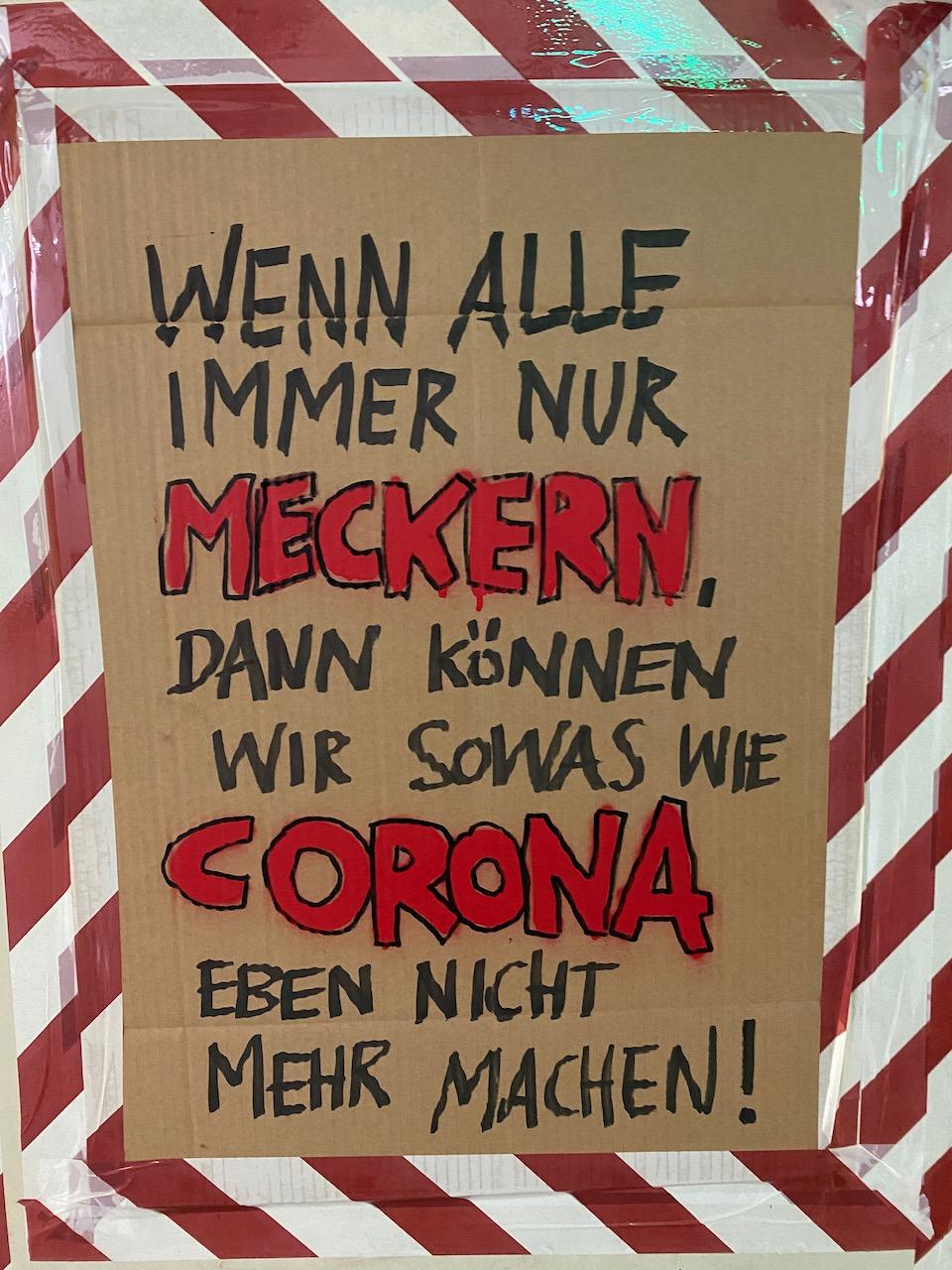 Corona Ausstellung